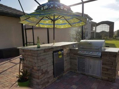 Outdoor Kitchen in Lakewood Ranch