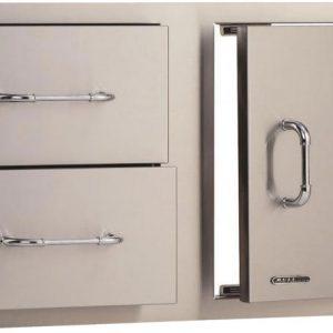 Bull BBQ Door Drawer Combo 55875