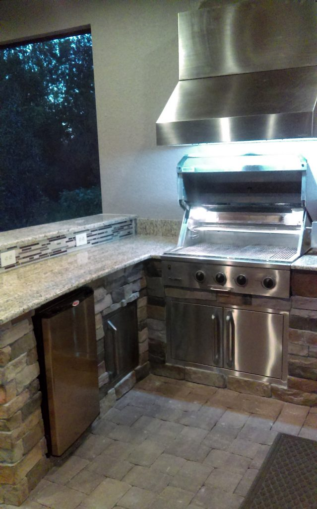 outdoor kitchen appliances packages pre fab custom outdoor kitchen installation in palmetto kitchens radil construction