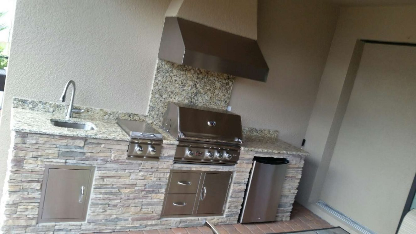 Outdoor Kitchens In Sarasota Past Projects Radil Construction
