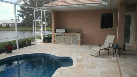 Outdoor Kitchen Installation in Venice Golf and Country Golf