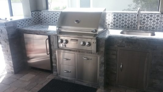 Naples Outdoor Kitchen