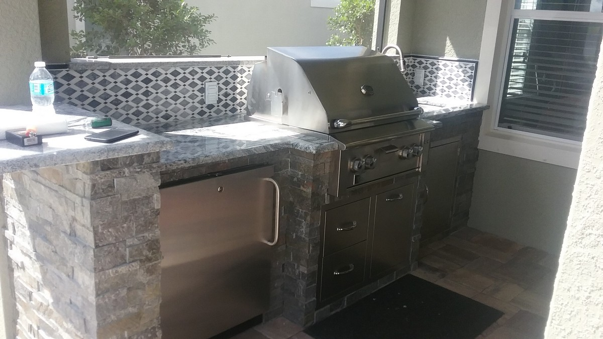 Outdoor Kitchens In Fort Myers Naples Estero Radil
