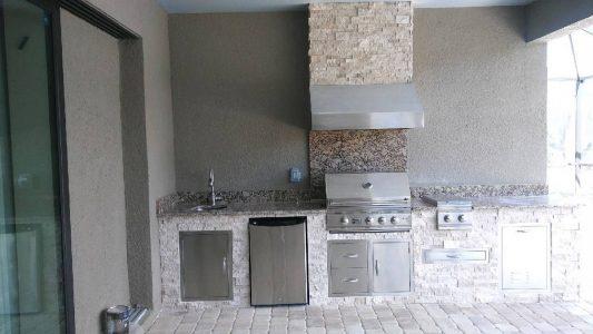 Sandhill Preserve Outdoor Kitchen