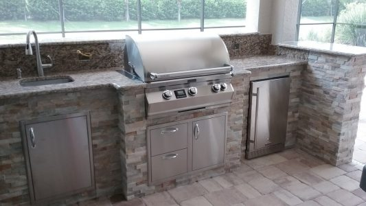 Firemagic grill and Blaze appliances
