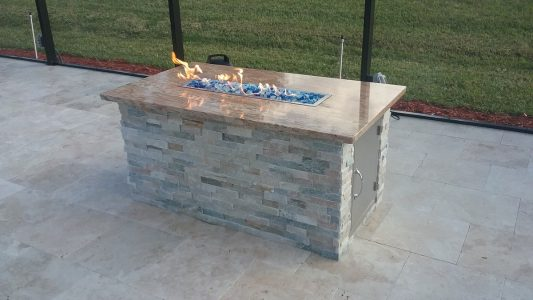 Bradenton Custom Fire Table