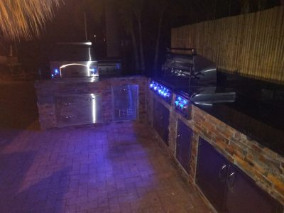 Fort Myers Beach Outdoor Entertaining Area - Lighting