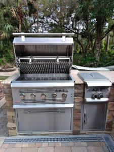 North Port Deluxe Backyard Barbecue - AMG Grill