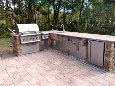 North Port Deluxe Backyard Barbecue - Grill CLosed