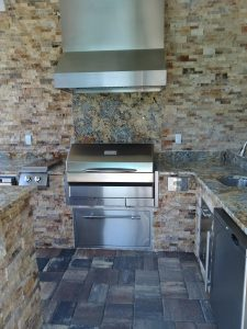 Level 5 Granite Backsplash and Countertops